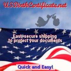 US Birth Certificate